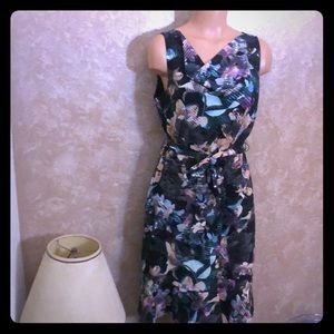 Floral dress with belt by Outback Red